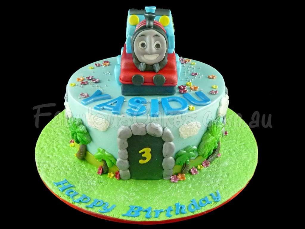 Thomas Train Cake Pictures Thomas The Train Cake 3